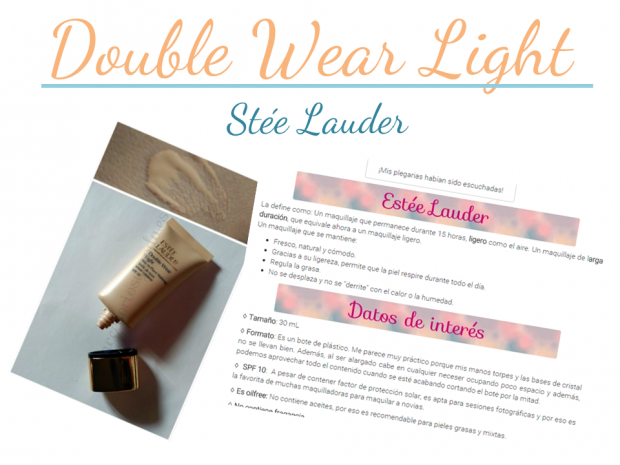 double waer light stee lauder