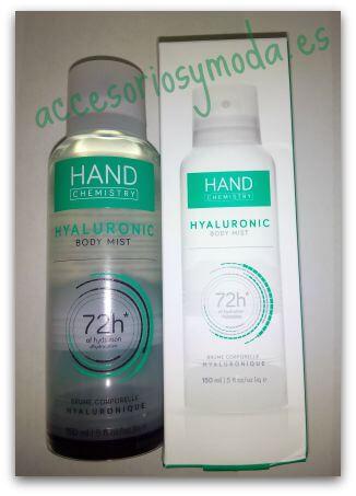 body mist hand chemistry
