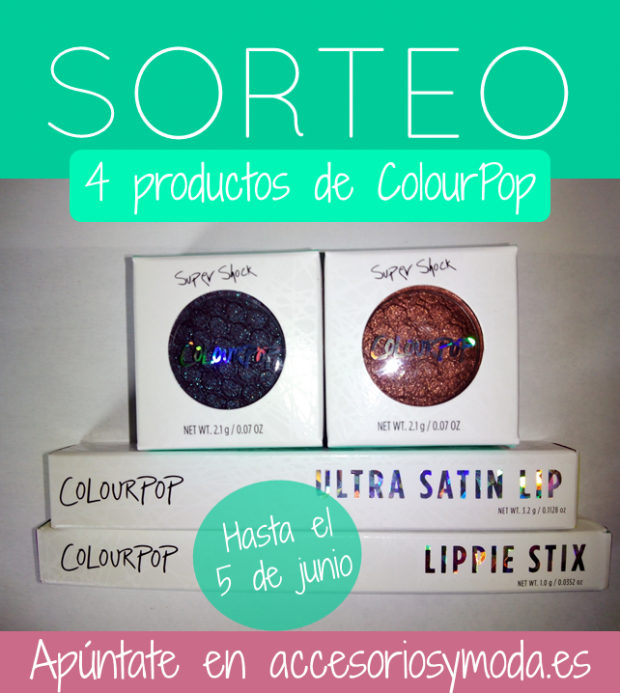 sorteo colour pop